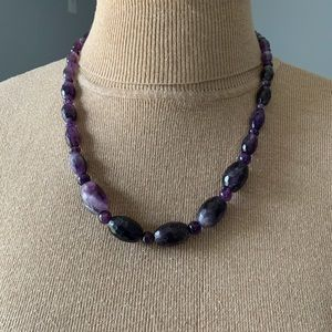🥰Beautiful Jay King cape amethyst necklace🥰